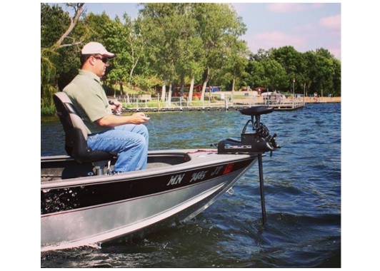 Haswing Cayman B, Bow Mount Electric Outboard Trolling Motor, Wireless Controller - 3 Models