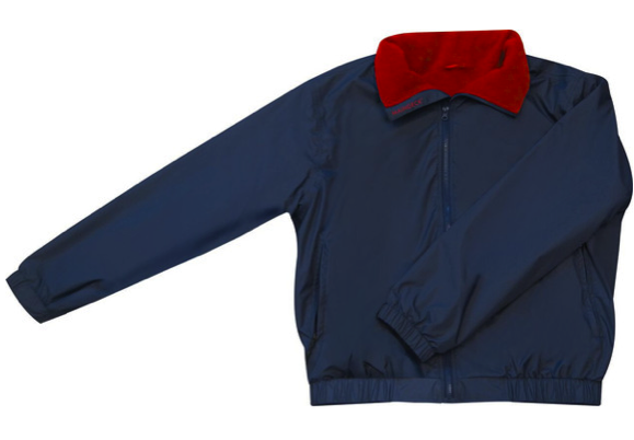 Maindeck Crew Jacket Navy/Red All Sizes