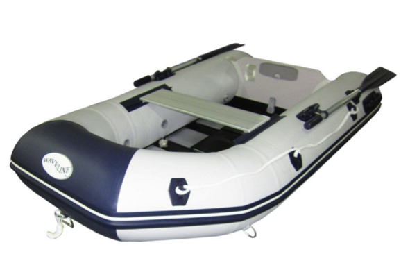Waveline 2.70m Premium Solid Transom Dinghy with Slatted Floor