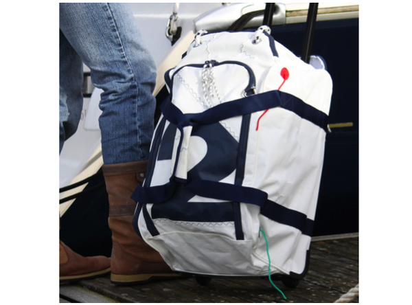 Sailcloth Sea Fly Bag with Wheels