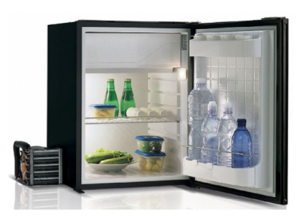 Vitrifrigo C75LBLAL 75 Litre Black Air Lock Fridge 12/24V Remote