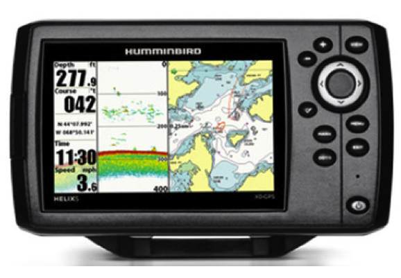 "Humminbird HELIX 5X Xtreme Depth GPS Fishfinder/Plotter 5"" With Navionics Gold Small"