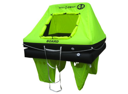 Waypoint Coastal Liferaft in Valise/ Container 4/6/8/10/12 Man MK2 2020 Model