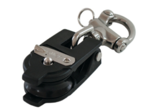 Allen 40mm Snatch Block with Snap Shackle - 2 Models