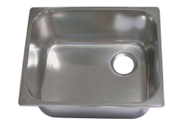 Rectangular Stainless Steel Sink Various Sizes