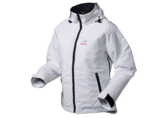 Baltic Top Float Buoyant Jacket with Hood - White - 5 sizes