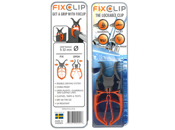 Fixclip Lockable Clip  Six Pack