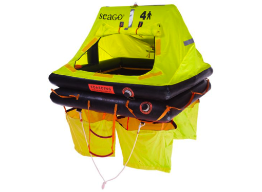 Seago Sea Cruiser ISO 9650-2 Liferaft - Cannister / Valise - Models 4/6/8/10 Person