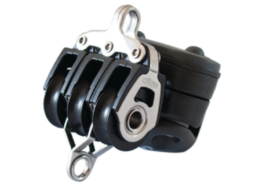 Allen 20mm Triple Block with Inverted Cleat & Becket