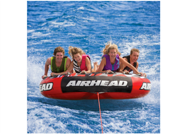 Airhead Mega Slice Inflatable Quadruple Rider Towable