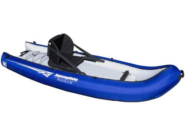Aquaglide Rogue 1 Inflatable Open Toe Kayak - One Man