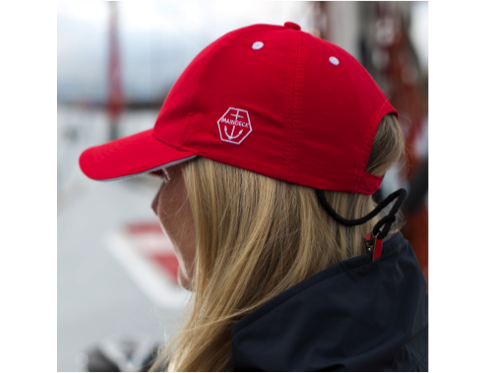 Maindeck Quick Dry Sailing Cap Red - The Wetworks 92a488a549a6