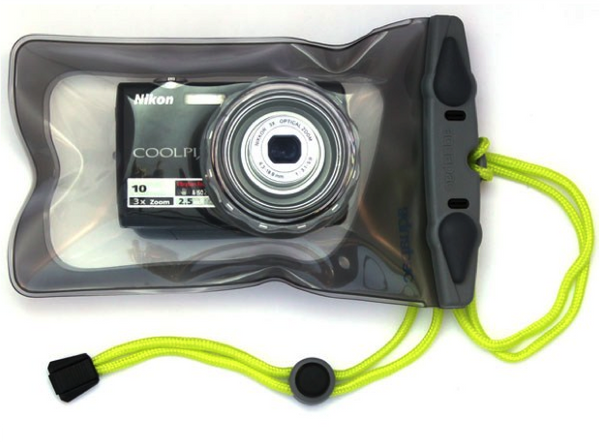 Aquapac Waterproof Mini Camera Case with Hard Lens