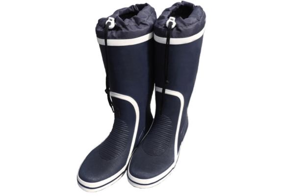 Waveline Whitby Rubber Boot Navy/White