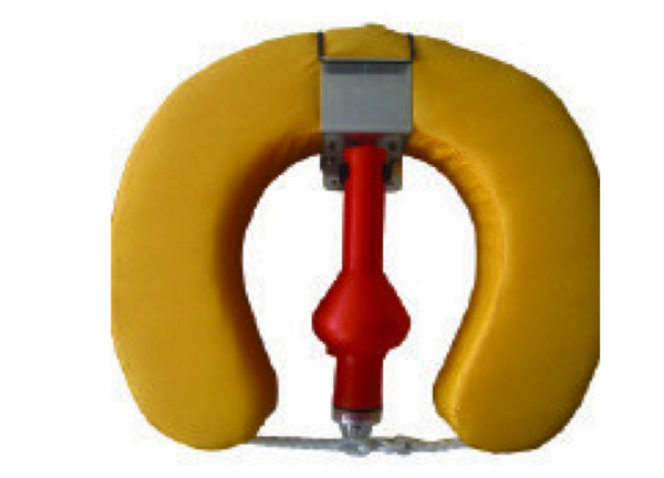 Complete Horseshoe Set Buoy, Bracket & Light
