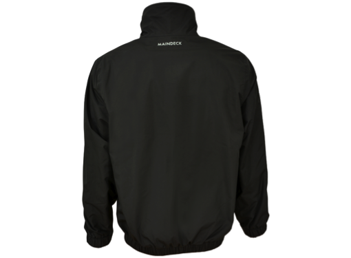 Maindeck Crew Jacket Black with Grey Fleece