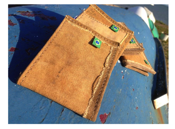 Tarp Canvas Wallet