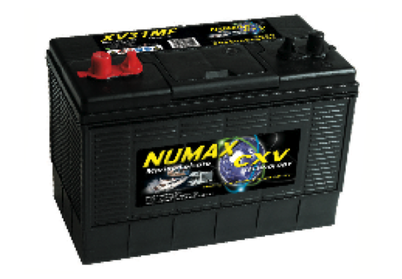 Numax XV Batteries