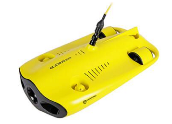 Gladius Mini Second Generation Underwater Five Thruster Drone - Free Upgrade to 100m Cable