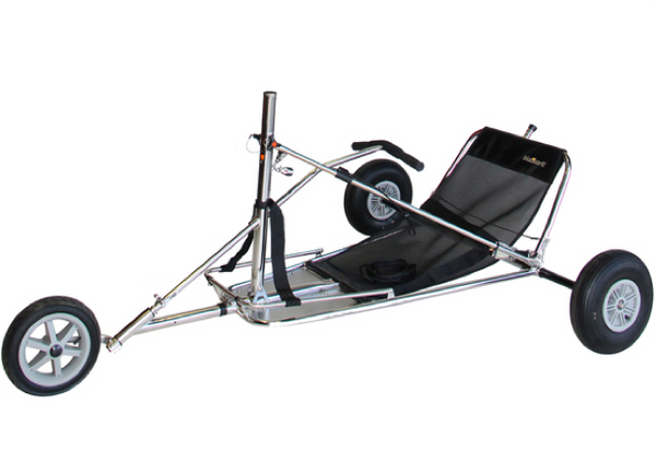 Blokart Chassis Complete Pro V3 - Stainless Steel