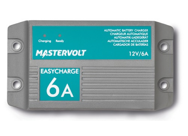 Mastervolt EasyCharge Waterproof Fixed Mount Battery Chargers 12v 6A