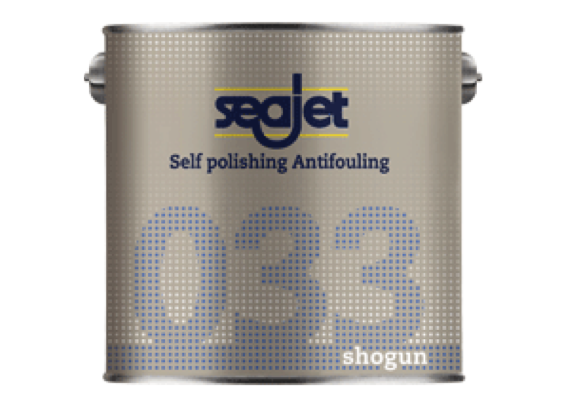 Seajet 033 Shogun Antifouling 2.5 Litre - 5 Colours