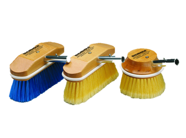 "Shurhold 8"" Angled Flagged Yellow Brush"