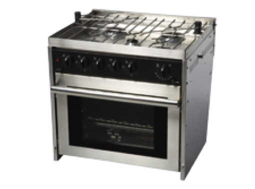Force 10 - 5 Burner ProfessionalGas Cooker - Oven & Grill