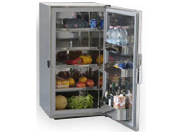 Frigoboat G5161112  MS180in Stainless Fridge Cabinet with Hidden Evaporator (12V)
