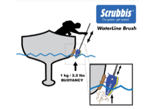 Scrubbis Waterline Brush