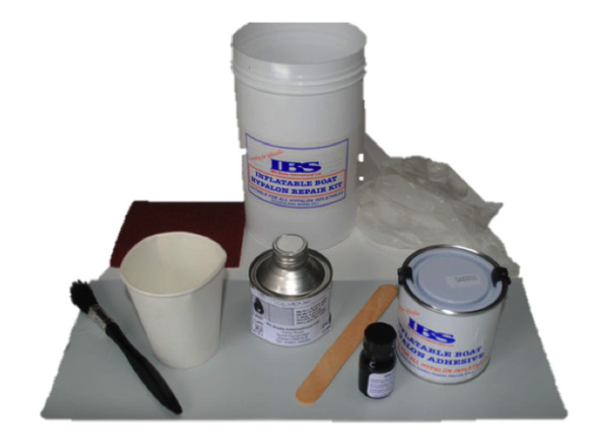 IBS PVC Inflatable Proffesional Repair Kit