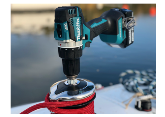 iWinch - Power Onboard - Manual to Electric Winch Adaptor