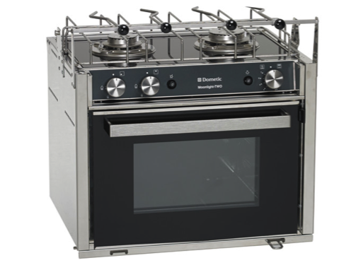 Dometic Smev Moonlight Two Cooker - 2 Burner Hob, Oven & Grill