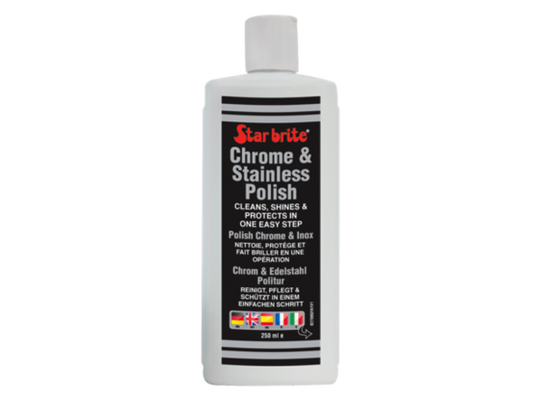 Star Brite Chrome & Stainless Steel Polish 250 ml