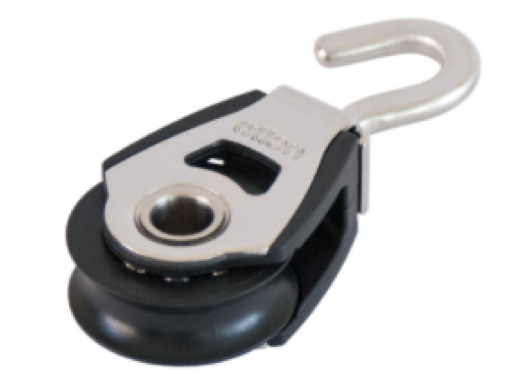 Allen 30mm Single Block with Swivel Hook