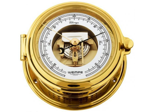 Wempe Senator Series Barometer 175mm - Brass Case