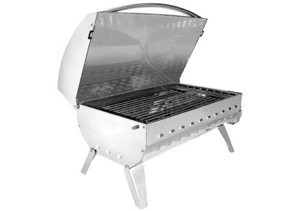 Eno Cook,N Boat Charcoal BBQ Stainless Steel