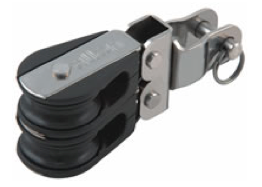 Allen 20mm Micro Double Block with Swivel Head