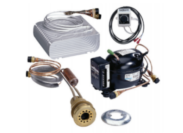 Isotherm 2051SP 125L Small 'O' Evaporator SP Fridge Kit - Seawater Cooled