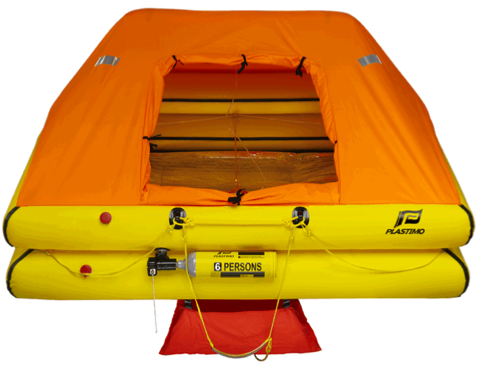 Plastimo Cruiser ORC Liferaft - Valise - 6 Person