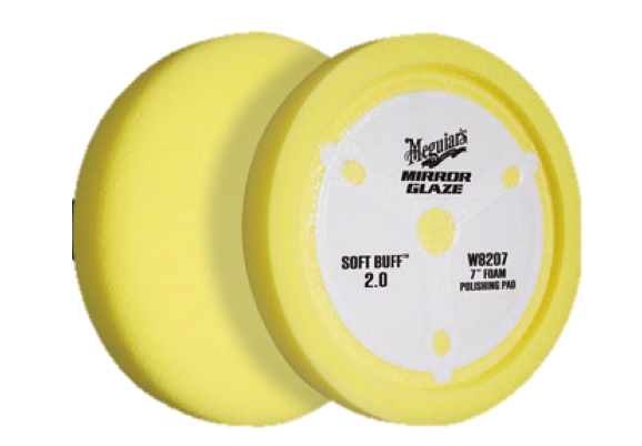 "Meguiars Soft Buff 2.0 6"" Polishing Pad"