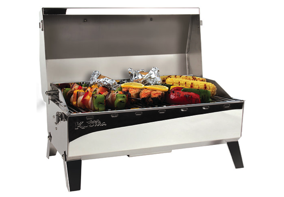 Kuuma Stow N Go 160 Gas Grill with EU-Style Fitting