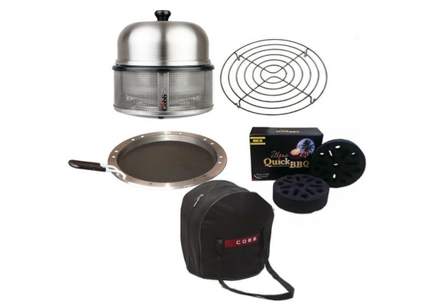 Cobb Barbecue The Complete Set - Stainless Steel