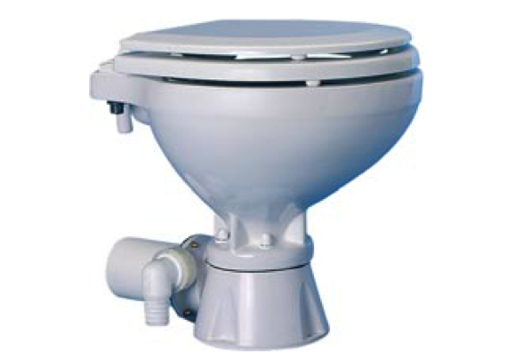 Ocean Electric Silent Toilet Compact Bowl 12/24V