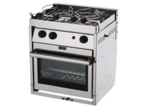 Force 10 - 2 Burner Gimballed Gas Cookers - 6 Variants