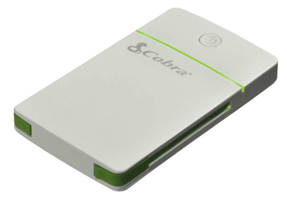 Cobra CPP 50-3 Output Portable USB Power Pack 5,000mAh