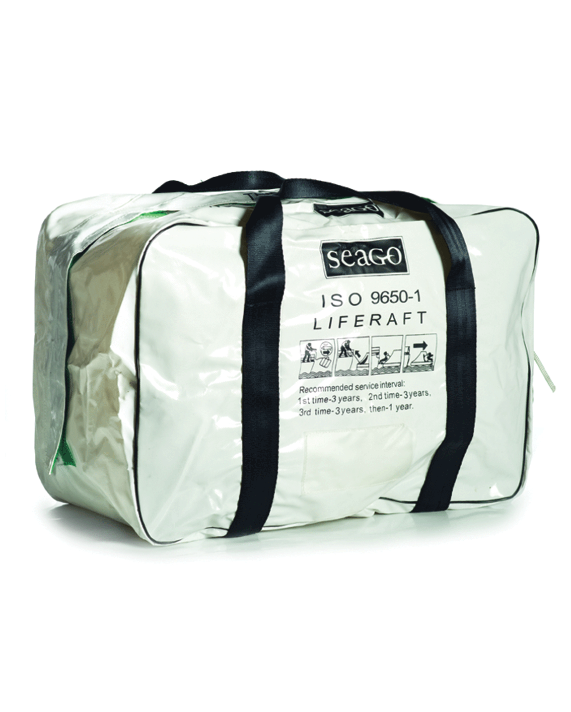 Seago Sea Master ISO 9650-1 Liferaft - Valise or Container