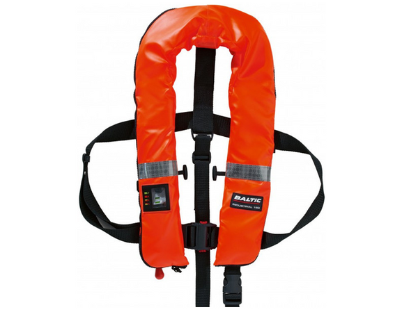 Baltic Argus Zip Industrial Automatic Lifejacket 150N