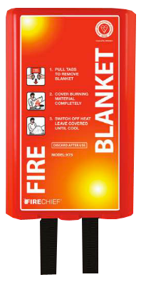 The Pod Fire Blanket 1m x 1m