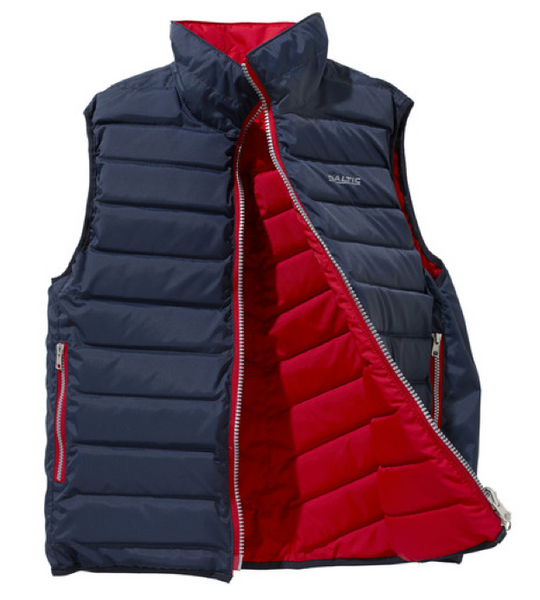 Baltic Surf & Turf Flipper Buoyant Gilet Navy/Red Reversible 50N
